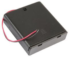 PRO POWER PP002099  Battery Box, 4X Aa, Wired